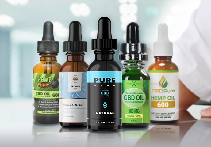 The 10 Best CBD Oils of 2019 (for Pain, Anxiety & Insomnia)